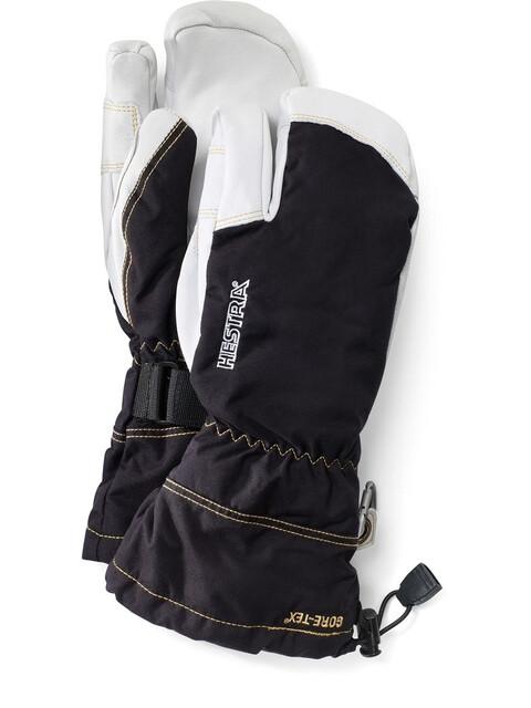 Hestra Army Leather GTX 3-Finger Svart (100)